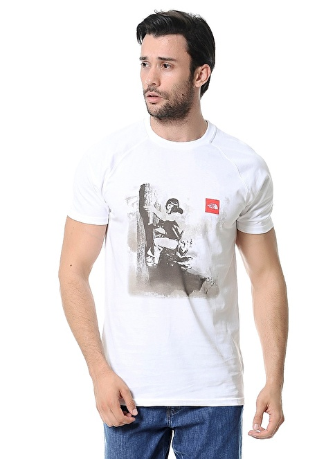 The North Face T-Shirt Beyaz